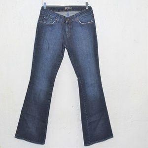 MAVI Mindy Dark Flare Low Rise Jeans W29 L32
